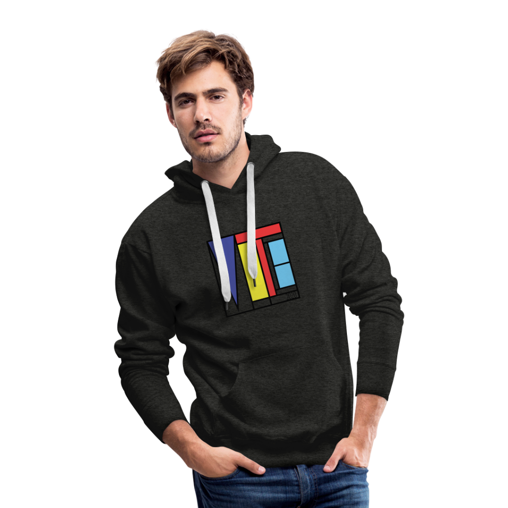 Vote Art - Men's Premium Hoodie - charcoal gray
