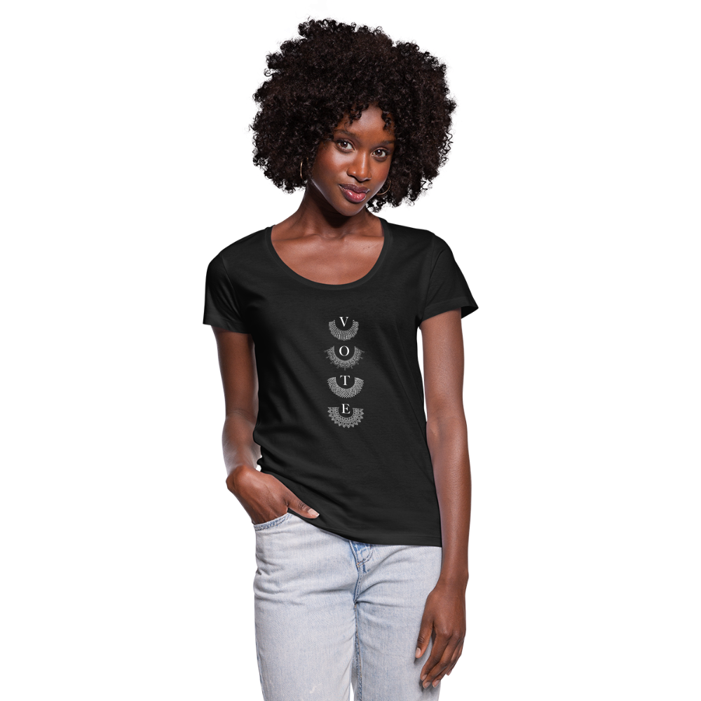 Fervent Wish - Women's Scoop Neck T-Shirt - black