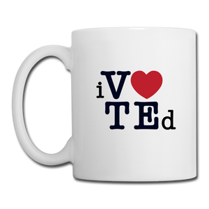 Voted - Mug - white