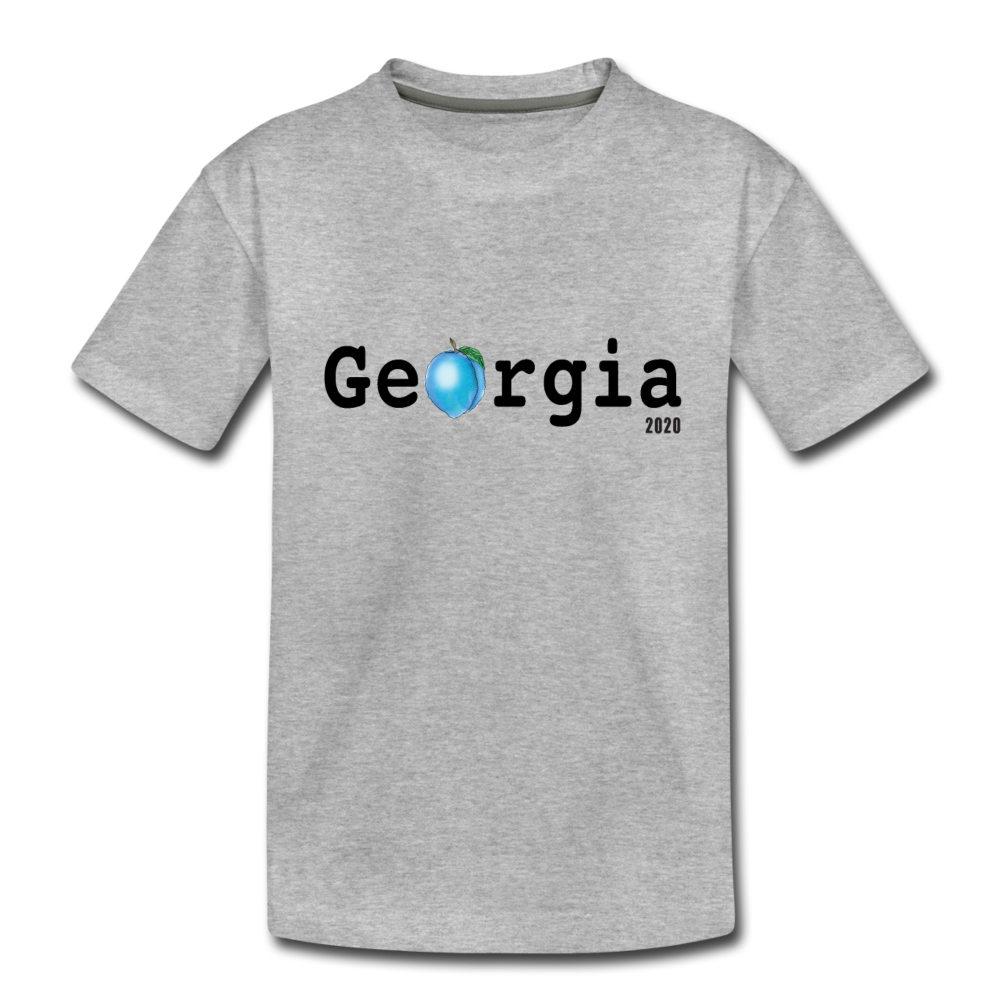Georgia Blue - Kids' Premium T-Shirt - heather gray