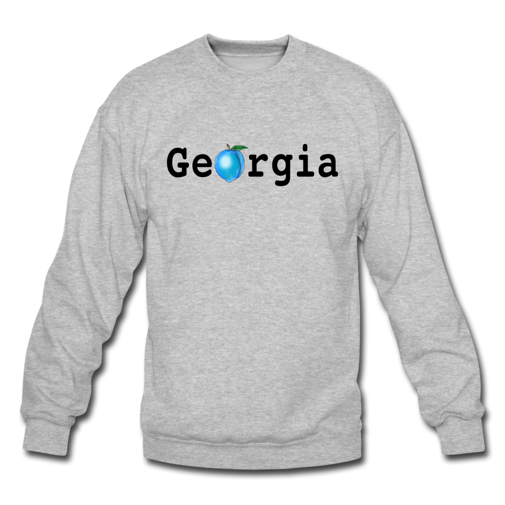 Georgia Blue - Unisex Crewneck Sweatshirt - heather gray