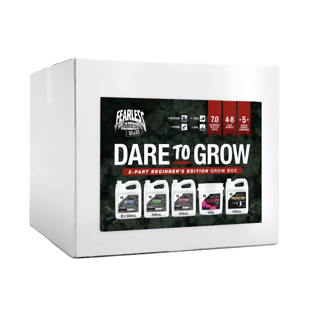 Dare To Grow - 2 Part Beginners Edition Grow Box