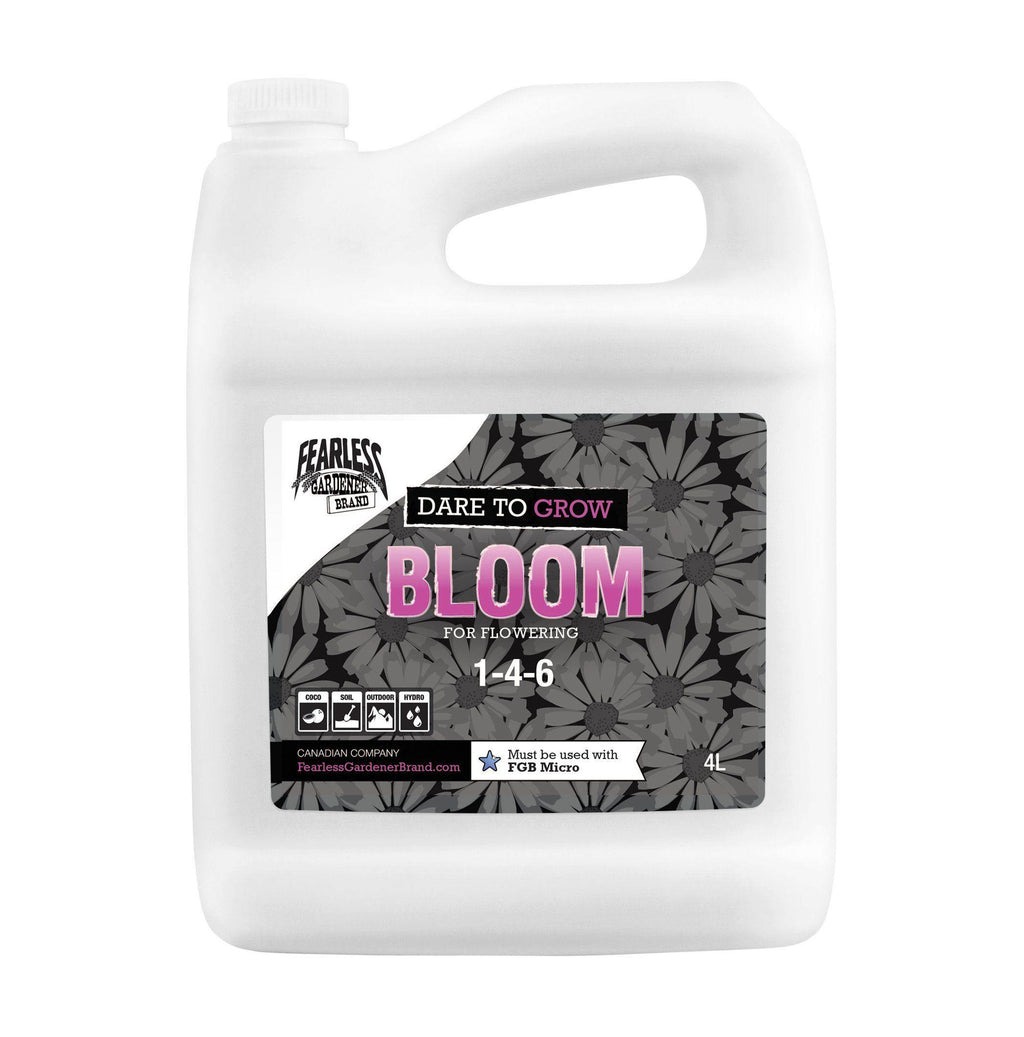 Dare To Grow - Bloom [1-4-6] | Fearless Gardener Brand