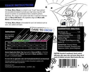 Dare To Grow - Micro Label