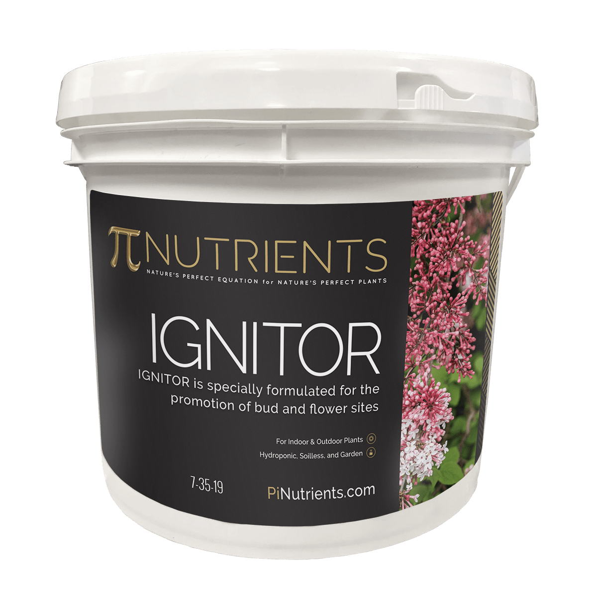 Pi Nutrients - Ignitor 7-35-19 - Fearless Gardener Brand Online