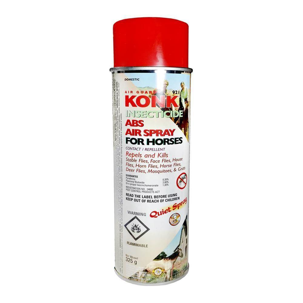 Konk Insecticide ABS Air Spray for Horses | Fearless Gardener Brand