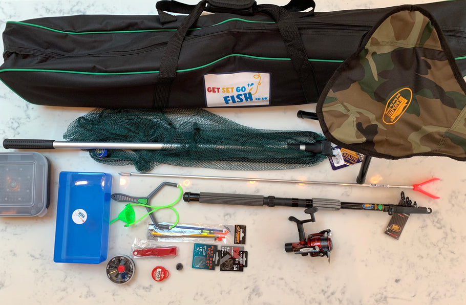 What fishing kit do you need to start fishing with children?