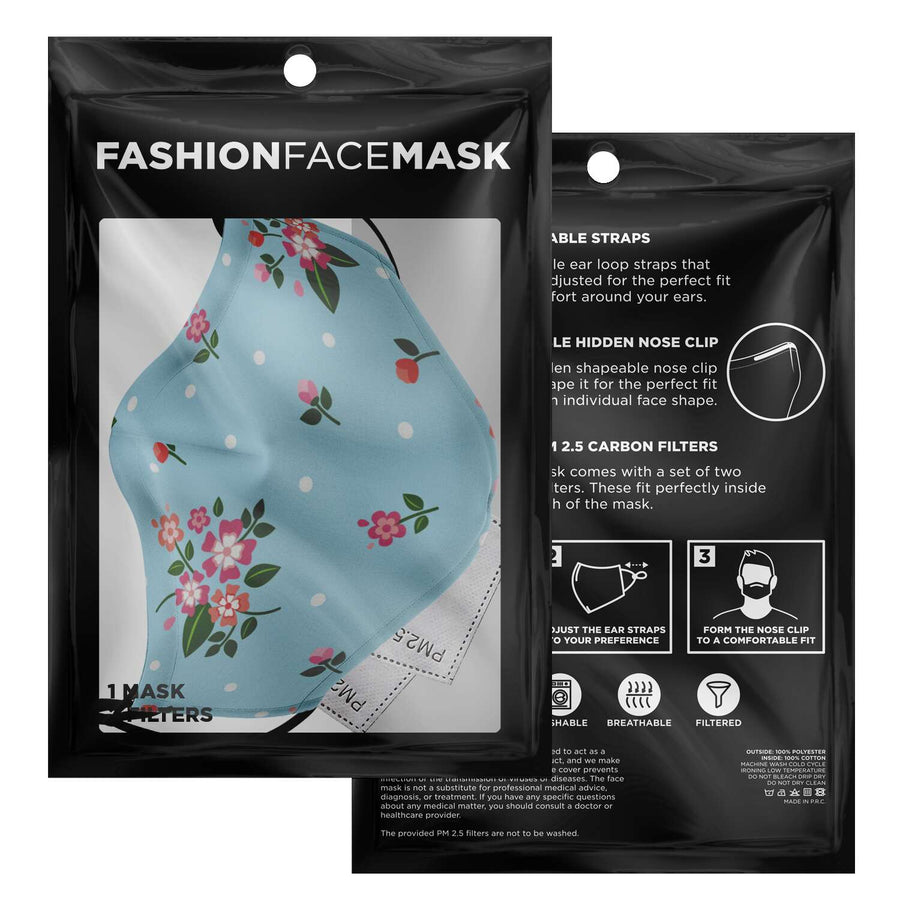 Ditsy Flower Face Mask