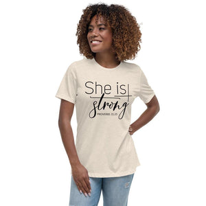 She is Strong Women's Relaxed T-Shirt