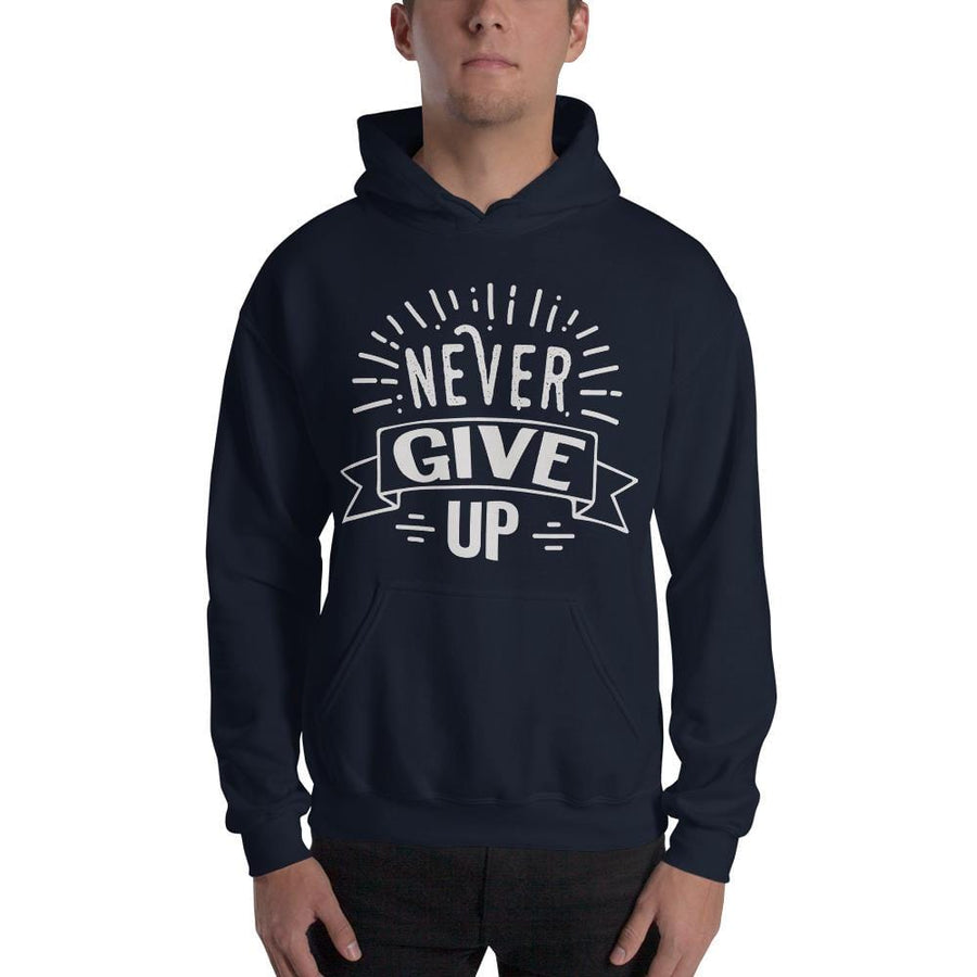 Never Give Up Hoodie