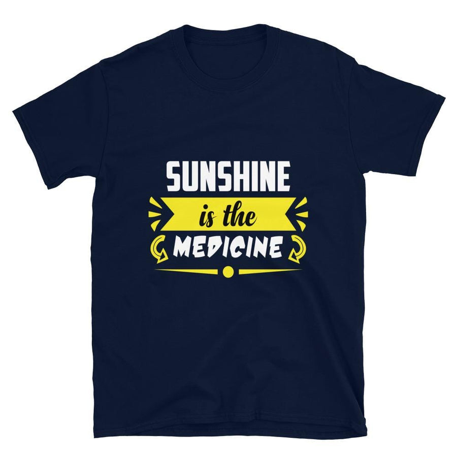Sunshine is the Medicine Short-Sleeve T-Shirt