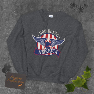 God Bless America Sweatshirt