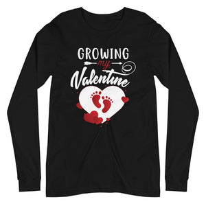 Growing my Valentine - Long Sleeve Tee