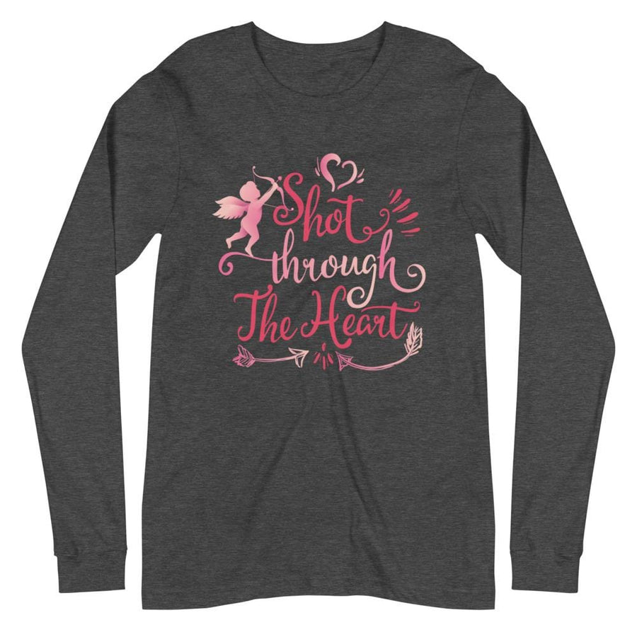 Shot Through the Heart - Long Sleeve Tee