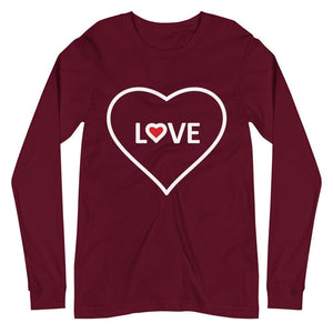 Love Heart Long Sleeve Tee