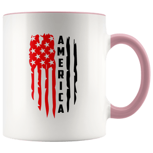 America Magic White Ceramic Mug 11oz