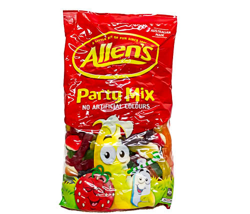 Party Mix by Allens 7.8kg carton