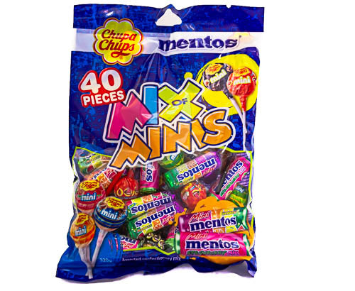 Mix of Minis - Chupa Chups and Mentos 40 pieces