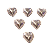 Load image into Gallery viewer, Hearts - Chocolate Hearts in Silver Foil (5kg bulk)