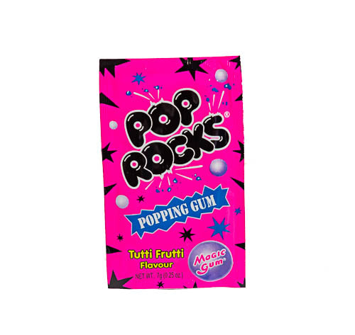 Pop Rocks Satchel - Bubble Gum - Tutti Frutti flavour