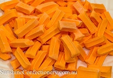 Load image into Gallery viewer, Mini Fruit Sticks - Orange 500g