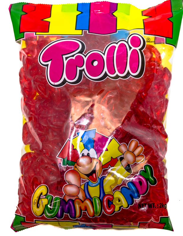 Red Gummi Lips - Trolli 2kg