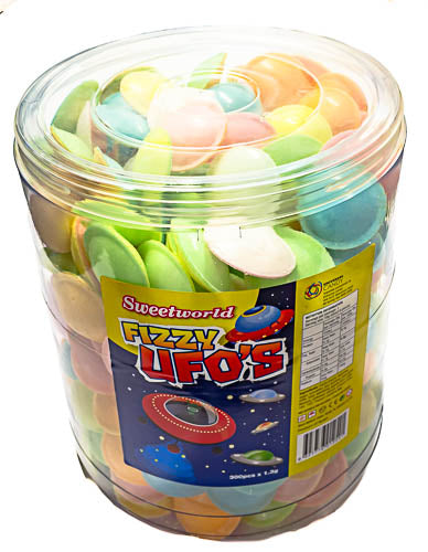 Fizzy UFO's - Flying Saucers tub