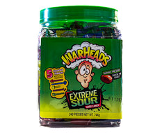 Load image into Gallery viewer, Warheads  -  Extreme SOUR - tub