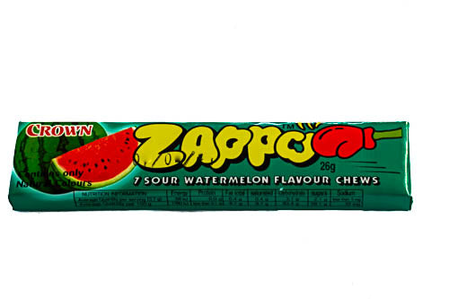 Zappo Watermelon Chews - 60 pieces