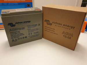 Victron Energy AGM Super Cycle battery 12V / 25Ah  (Article # BAT412025081)