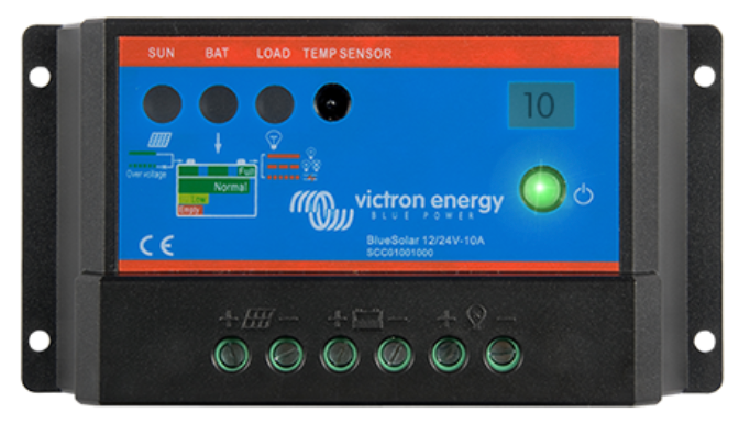 Victron Energy BlueSolar PWM Light Charge Controller 12/24V-5A