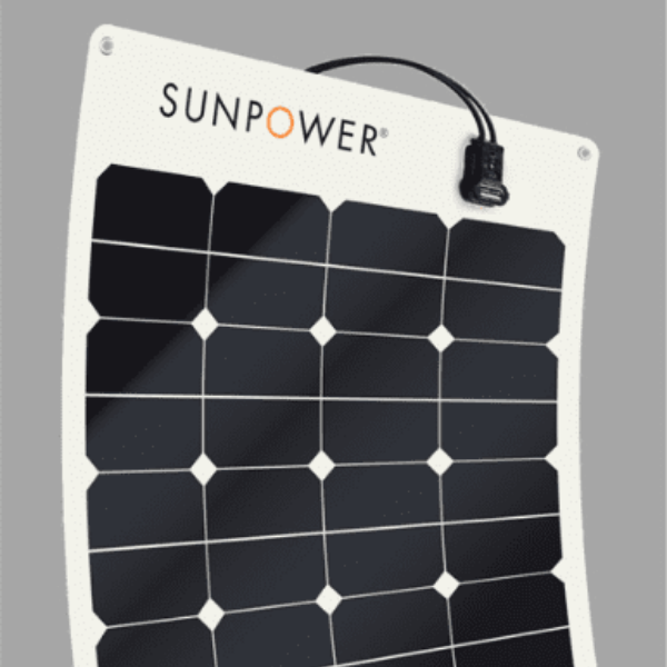 SunPower® Flexible Solar Panels 50W | SPR-E-Flex-50