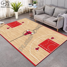 Load image into Gallery viewer, Carpet 3D Basketball Larger Mat Flannel Velvet Memory soft Rug Play Game Mats Baby Craming Bed Area Rugs Parlor Decor 015