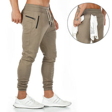 Load image into Gallery viewer, Men's Casual Sweatpants Solid High Street Track Trousers Men Joggers Fitness Brand Multifunctional Breathable Men's Pants Sports