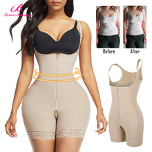 Load image into Gallery viewer, High Waist Tummy Control Slimming Shapewear Corset Full Body Shaper Wait Trainer Weight Loss Bodysuit Reduce Fajas Underwear