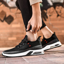 Load image into Gallery viewer, Men's Running Shoes Rubber Hard-Wearing Damping Sports Shoes Comfortable