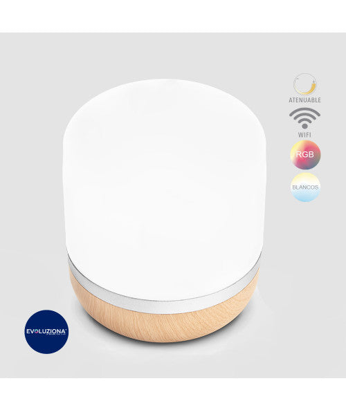 Lámpara De Mesa Led Inteligente Wifi Google Y Alexa