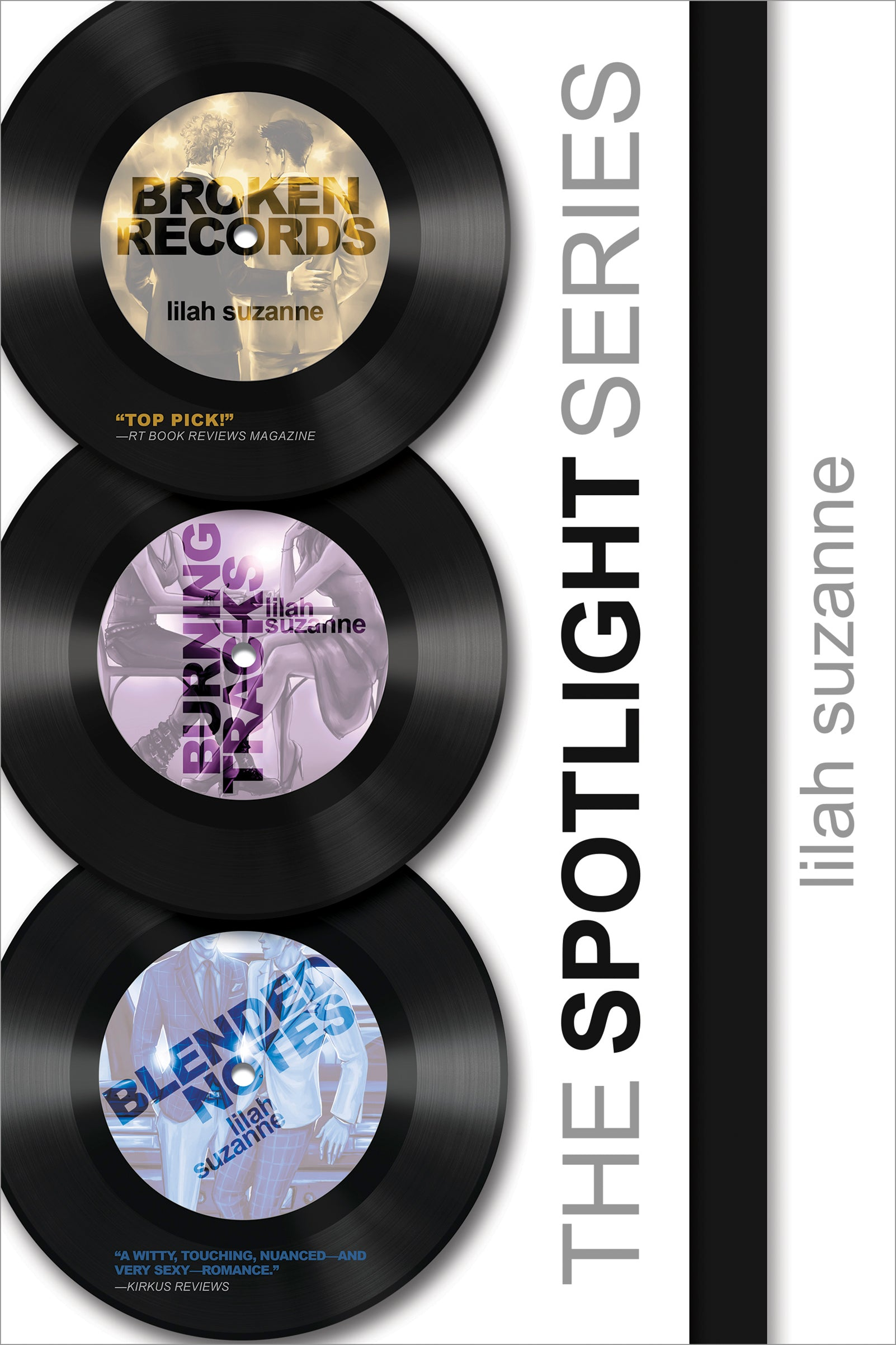 The Spotlight Series Boxed Set by Lilah Suzanne