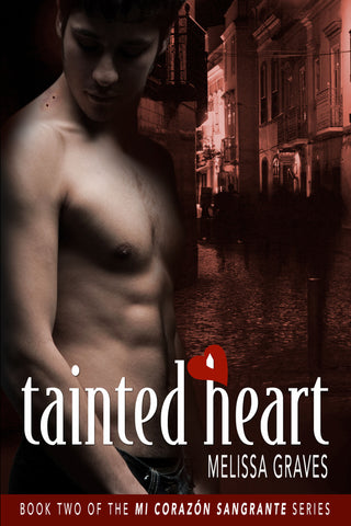 Tainted Heart by Melissa Graves (printed book)