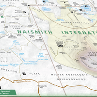 "Naismith International Park Map 18 x 24"" Print"