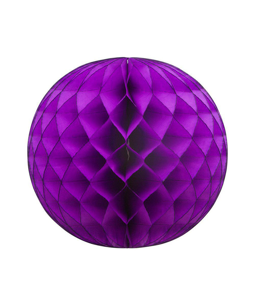 "Purple HONEYCOMB BALL 19"" - Oh Happy Day"