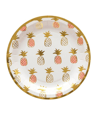 Pineapples Plates (Small)