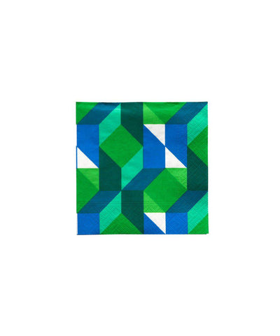 Color Theory Green Napkins (Small)