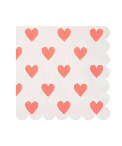 Heart Party Napkins (Large)
