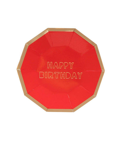 Happy Birthday Plates (Small)