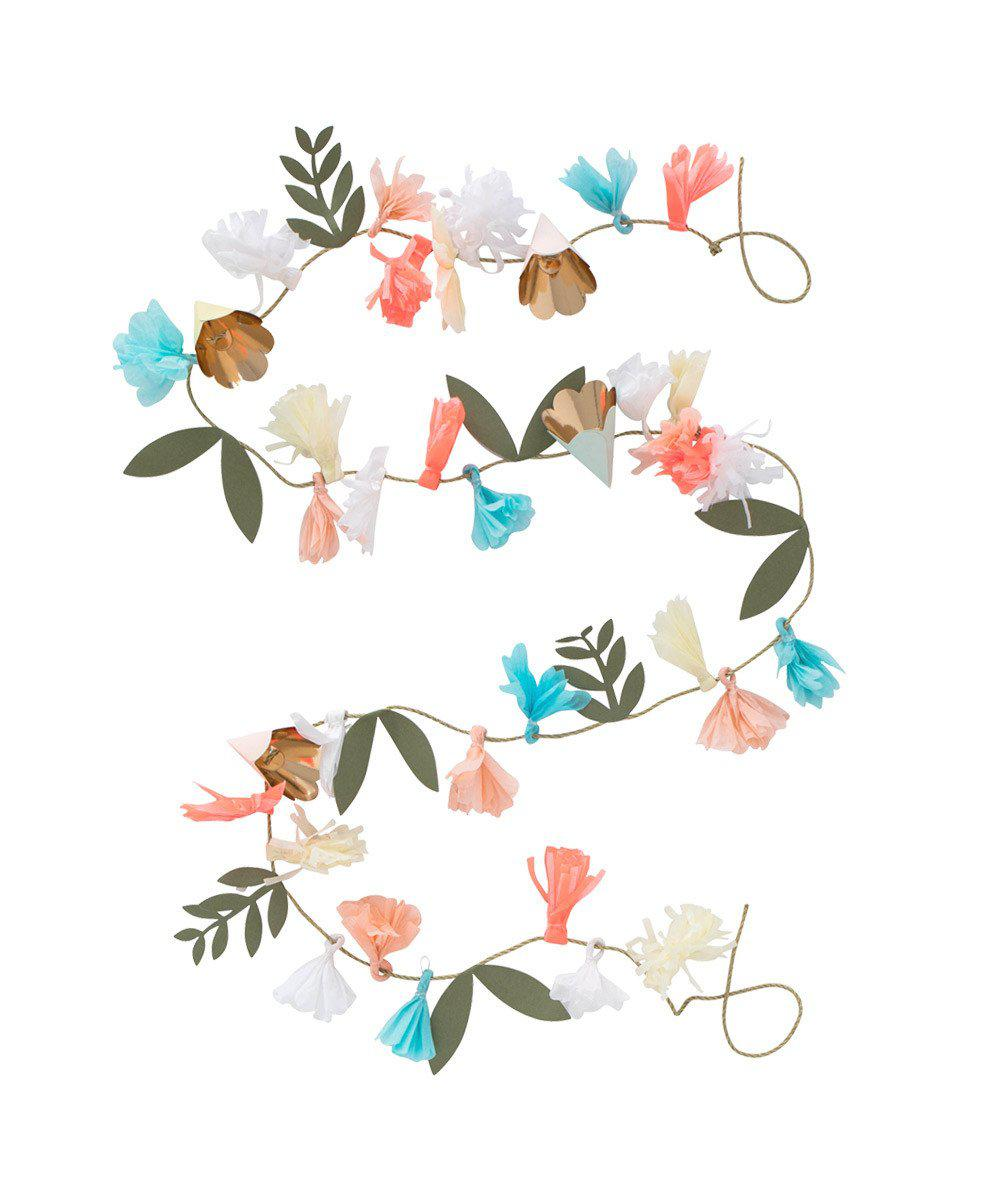 Flower Bouquet Garland