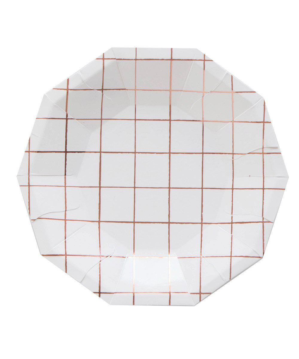 Grid Party Plates (Large)