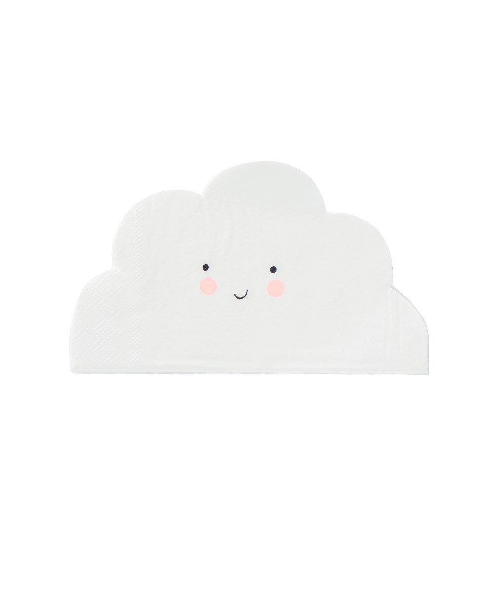 Smiley Cloud Party Napkin
