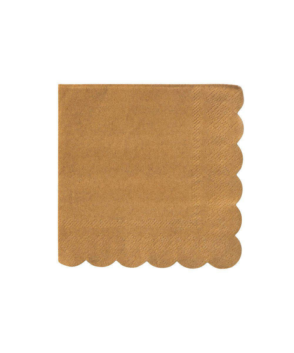 Kraft Scallop Party Napkins (Large)