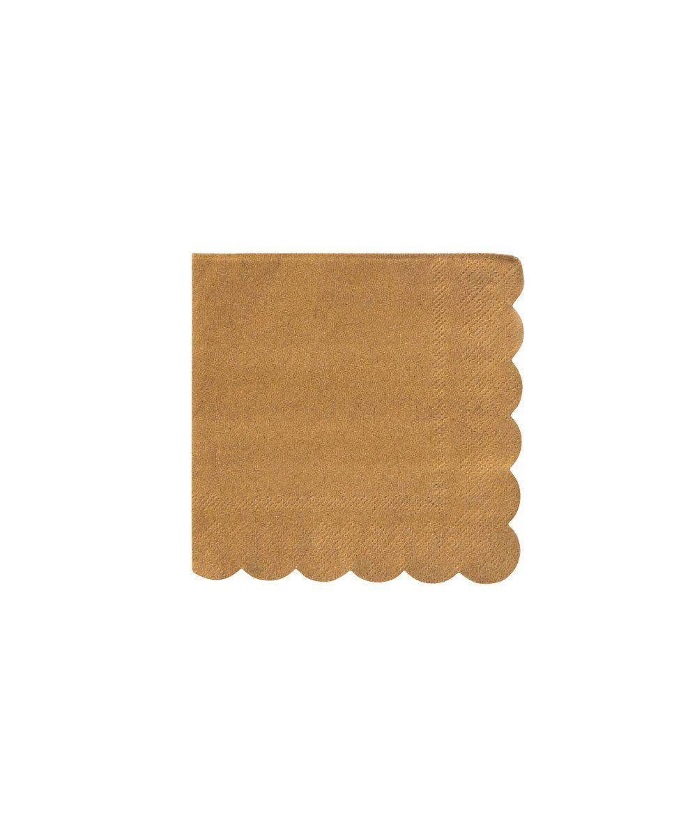 Kraft Scallop Party Napkins (Small)
